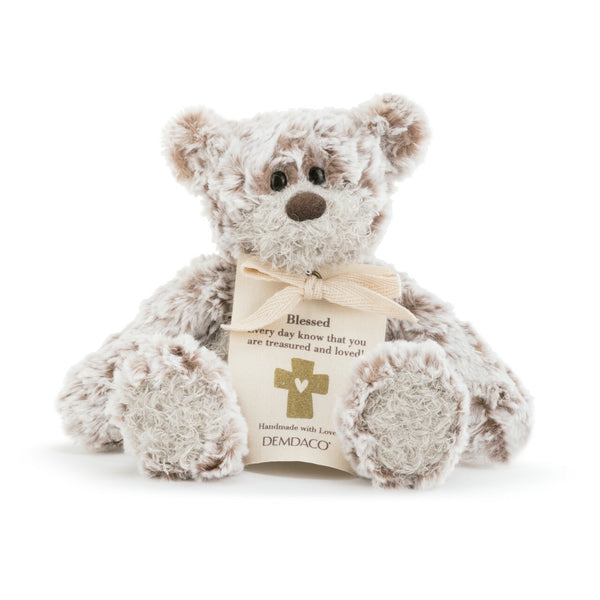 "Mini Giving Bear 8.5"" - Blessing - Stuffed Animal"