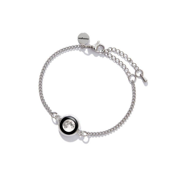 Pallene Moon Skinny Bracelet, Fourth Quarter, 1D