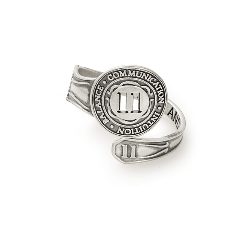 Spoon Ring, Number Eleven, Sterling Silver