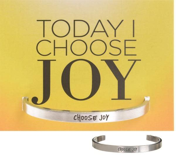 Choose Joy Quotable Cuff