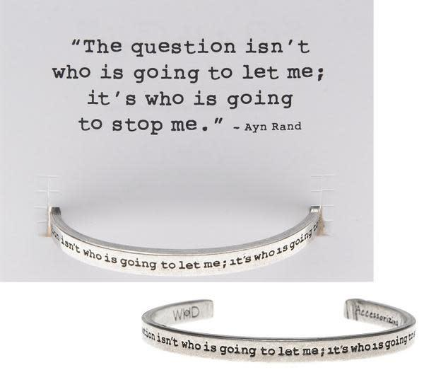 The Question Quotable Cuff