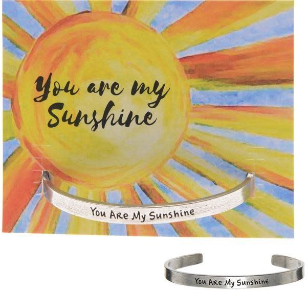 You Are My Sunshine Quotable Cuff