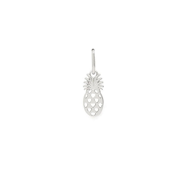 Necklace Charm - Pineapple Sterling Silver