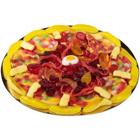 Raindrops Candy Pizza