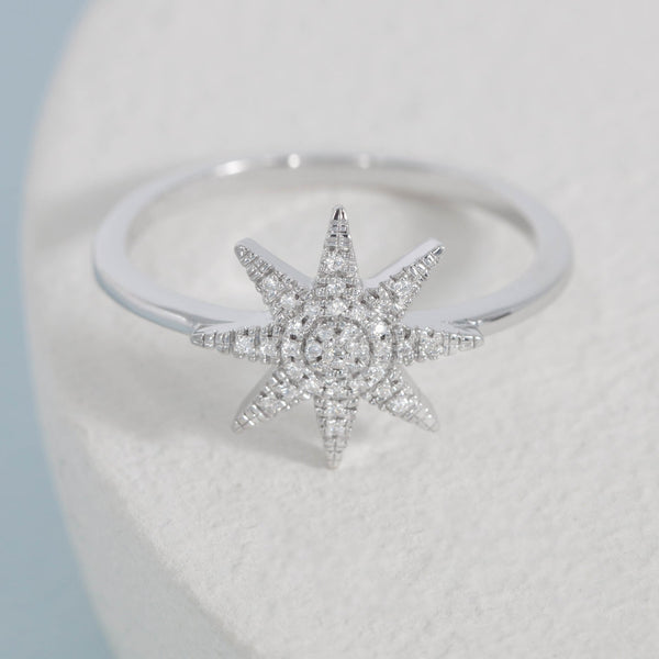 Superstar Ring, Sterling Silver
