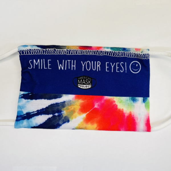 American Mask - Adult Rainbow Tie Dye