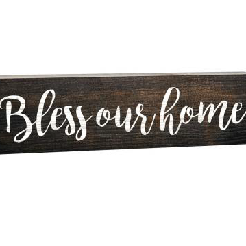 Bless Our Home 1.5 x 6