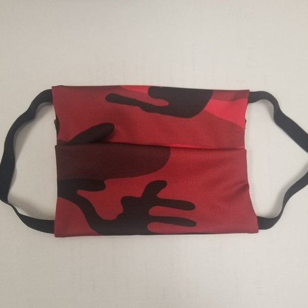 American Mask - Kids Red Camo