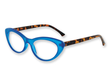 Azure Tiger Reader Glasses