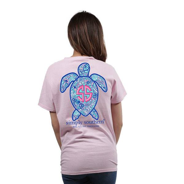 Save The Turtles Short Sleeve Logo Shell - Lulu