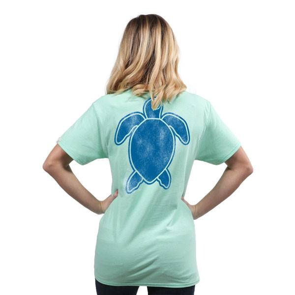 Save The Turtles Short Sleeve - Posiden