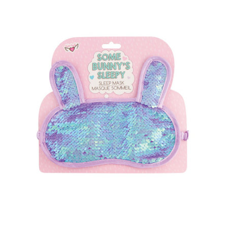 Magic Sequin Sleep Mask-Bunny