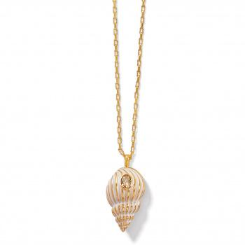Paradise Cove Spiral Shell Necklace