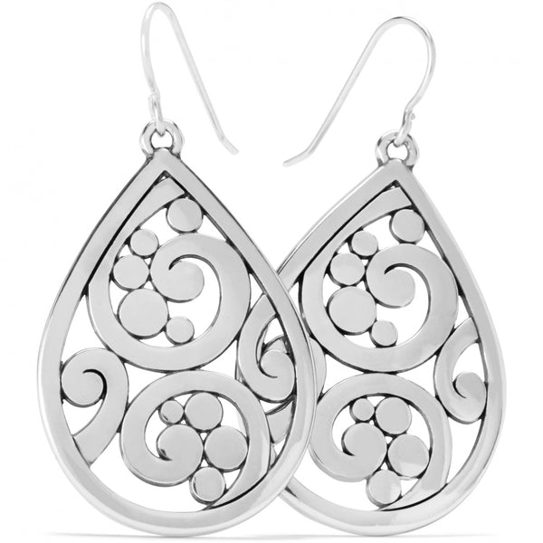 Contempo Teardrop French Wire Earrings