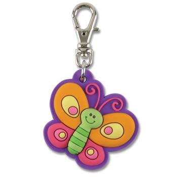 Zipper Pulls Butterfly