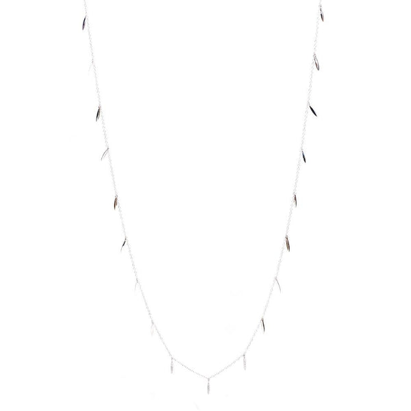 Strolling the Boulevard Necklace - Silver