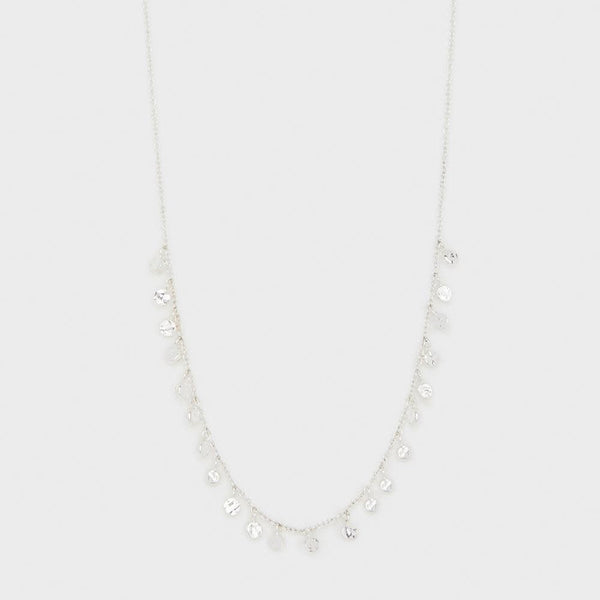 Chloe Mini Necklace, Silver