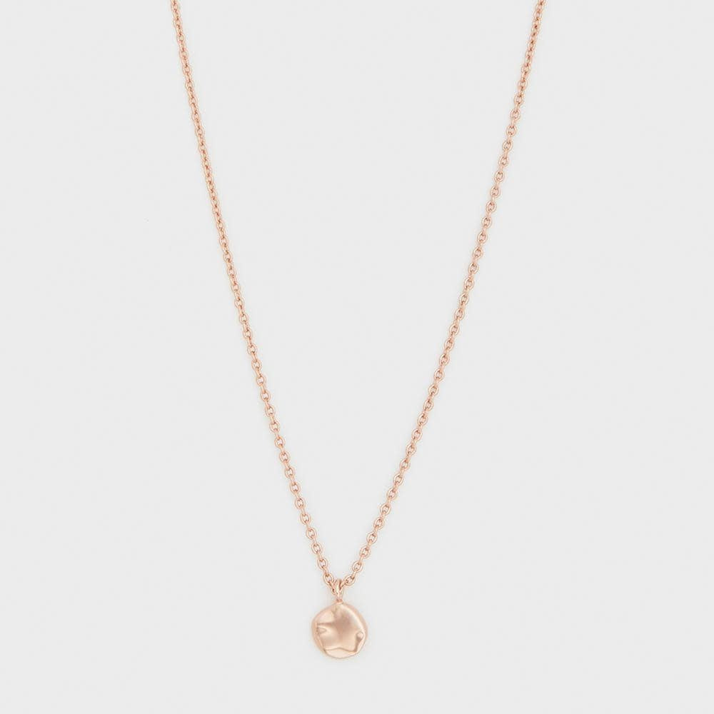 Chloe Necklace, Rose Gold