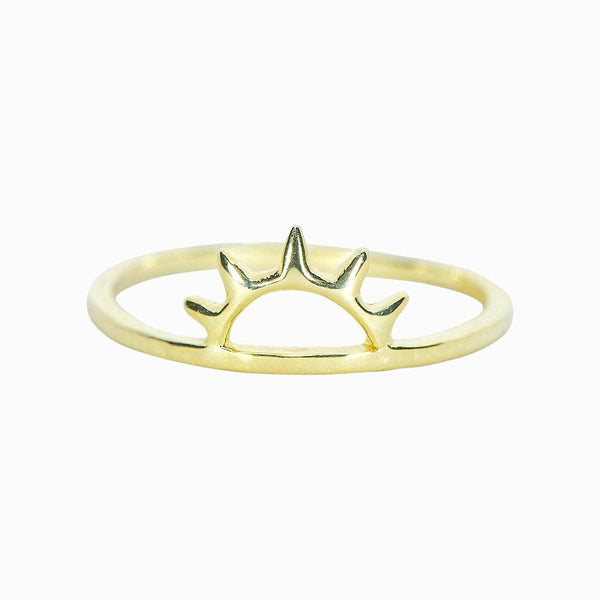 Gold Sunset Ring