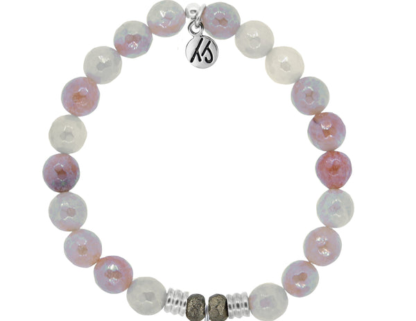 Core Collection Bracelet, Sunstone Stone - (Select Charm Inside)