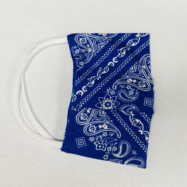 American Mask - Royal Blue Bandana Youth & Adults