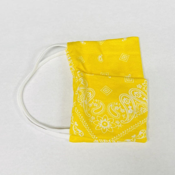 American Mask - Canary Yellow Bandana Youth & Adults