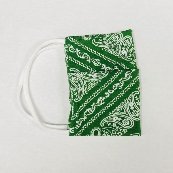 American Mask - Green Bandana Youth & Adults