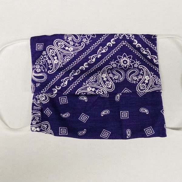 American Mask - Purple Bandana Youth & Adults