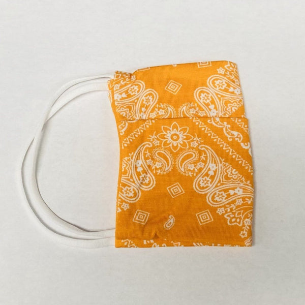 American Mask - Adults Bright Orange Bandana