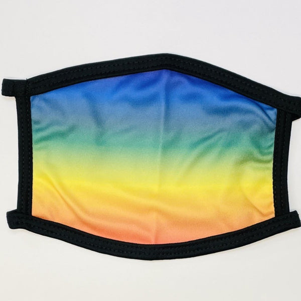 Rainbow Gradient Face Mask