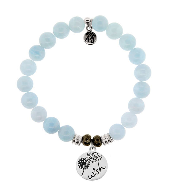 Core Collection Bracelet, Blue Aquamarine, Wish
