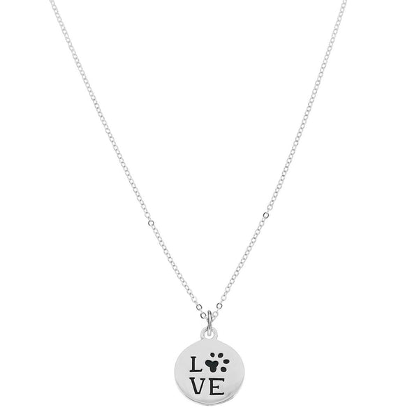 Core Necklace, Paw Print