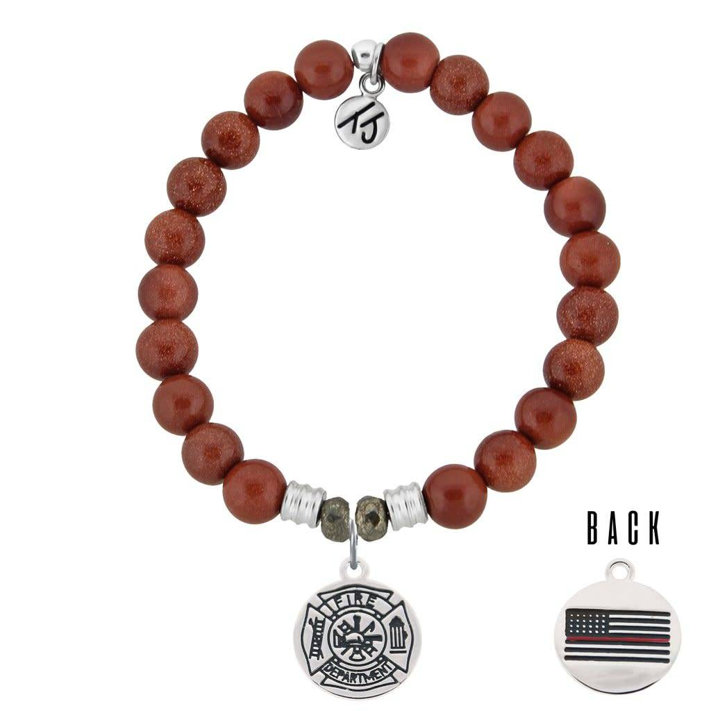 Core Collection Bracelet, Goldstone, Firefighter