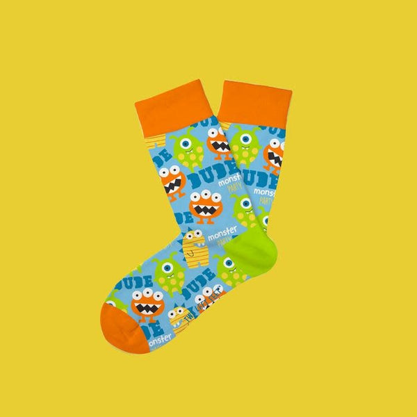 Kids Socks-Monster Mash