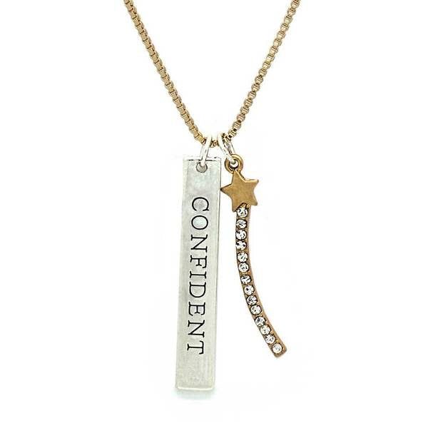 Tokens Necklace, Star - Confident