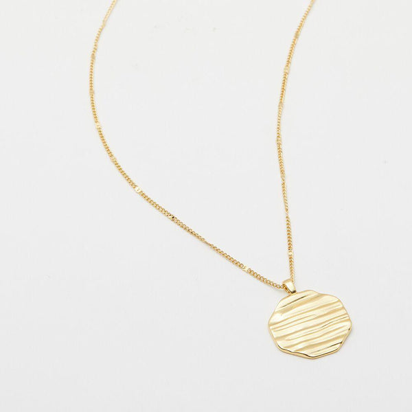 Sunset Necklace, Gold