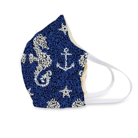 Vera Bradley - Adult Seahorse of Course Cotton Face Mask