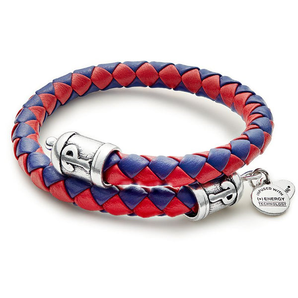 Philadelphia Phillies Braided Leather Wrap RS