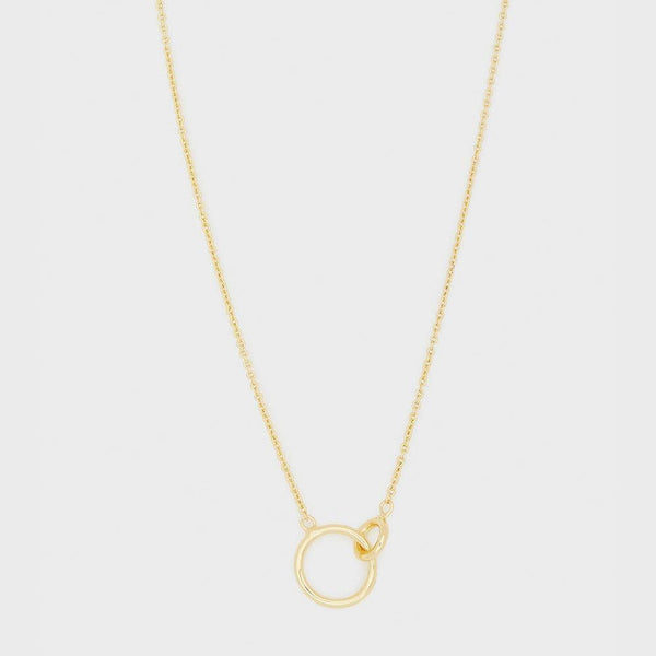 Wilshire Necklace, Gold
