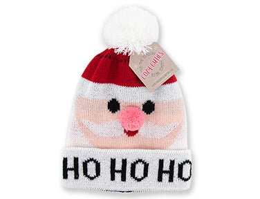 Cozy Cuties Kid's Holiday Knitted Hat - Santa