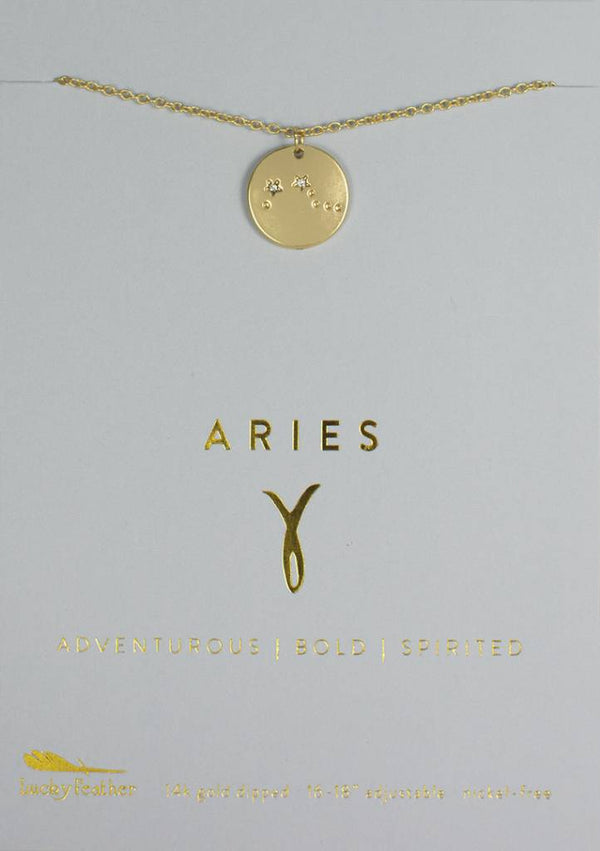 Aries - Gold Necklace