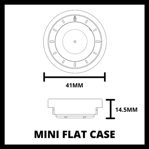 41MM Flat Case Mini - Maker Watch Co.
