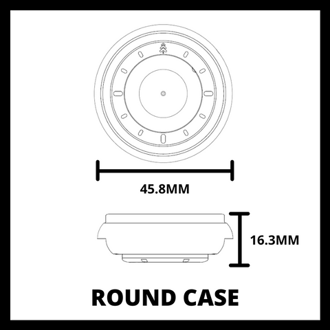 45MM Round Case - Maker Watch Co.