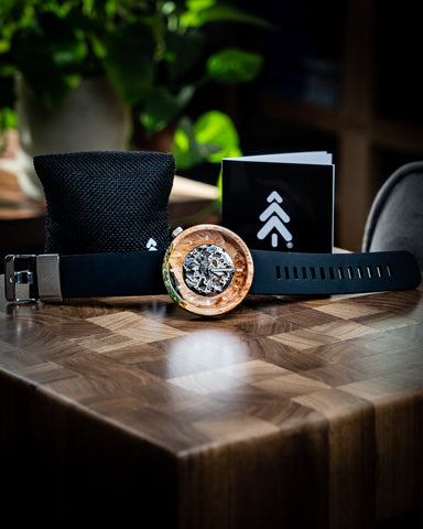 Best Gift for Groom - Custom Watch by Maker Watch Company