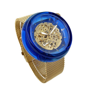 Blue and Gold Resin Watch - Maker Watch Company