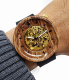 Custom Wooden Watch Made in Canada