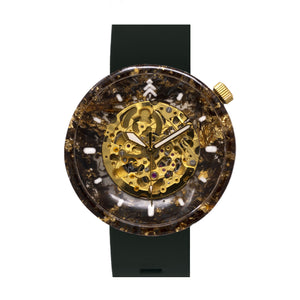 Cigar Leaf Epoxy Resin Watch