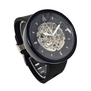 Black and Blue Diamond Watch