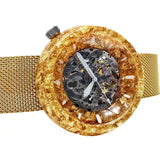 Gold Watch Case - Resin and Gold Flake - Maker Watch Co.®