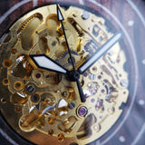 Gold Miyota 8N24 Movement